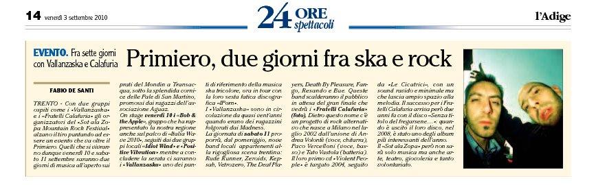 Adige del 3 settembre 2010